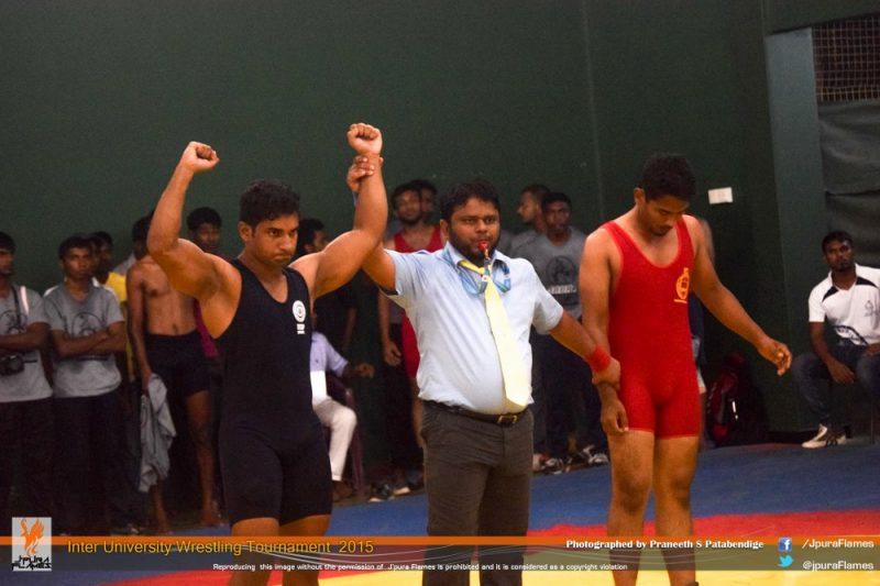 Uwin Ariyarathna Wrestling