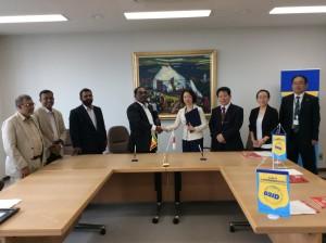 MOU with Nagoya Jayewardenepura University