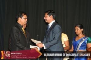 J'pura University Toastmasters Club launching ceromony