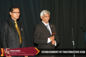 J'pura University Toastmasters Club launching ceromony