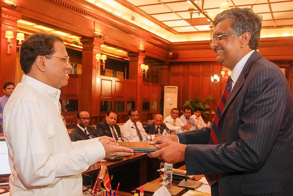 Engineering Faculty Jayewardeneprua VC to President
