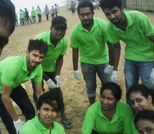 International Coastal Clean-up Day 2015 : Clean and Green is our Dream