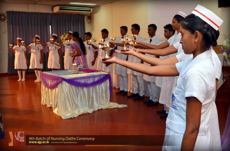 Nursing Oaths ceremony