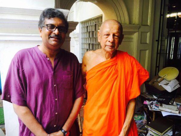 VC with Gangaramaya Podi Hamuduruwo