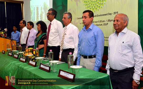 Environment Day Commemoration