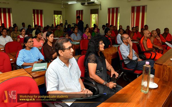 workshop for postgraduate students