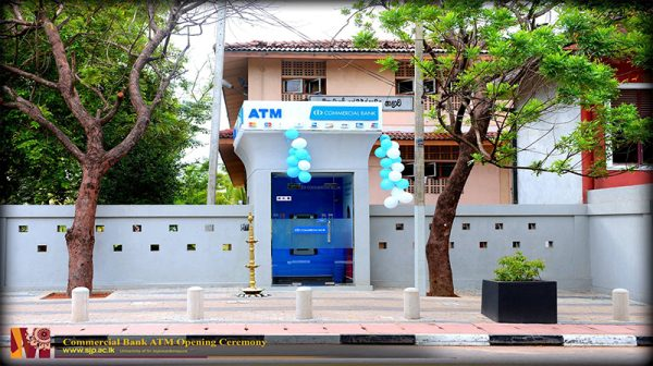 commercial bank ATM opening