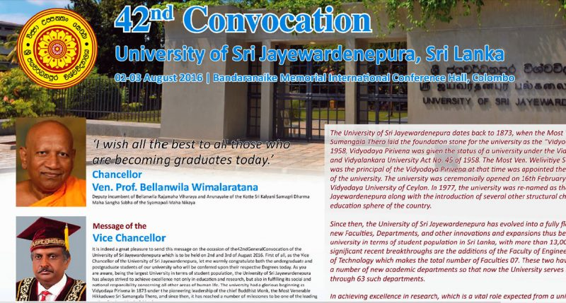 Convocation messages
