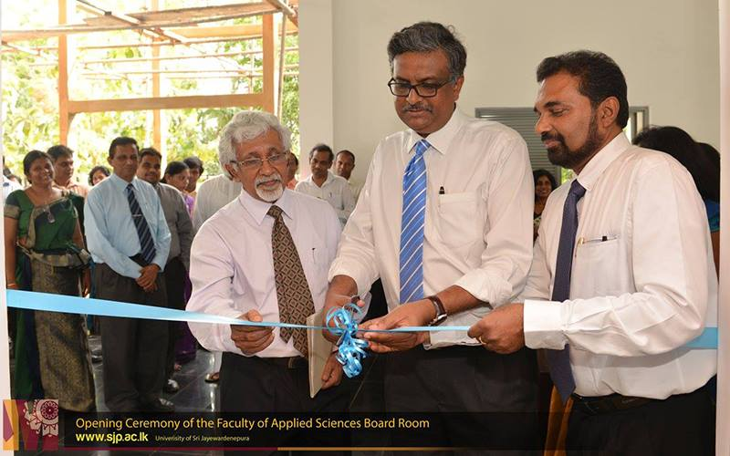 Opening of FAS board room