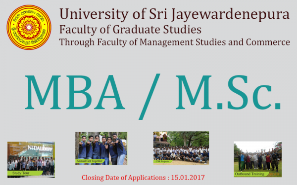 mba in sri lanka