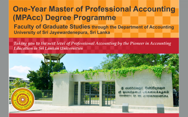 Master of Professional Accounting (MPAcc) 2017