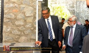Opening ceremony of the New Faculty Complex in Faculty of Technology