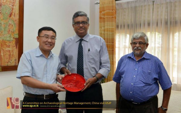 Committee on Archaeological Heritage Management, China visit USJP