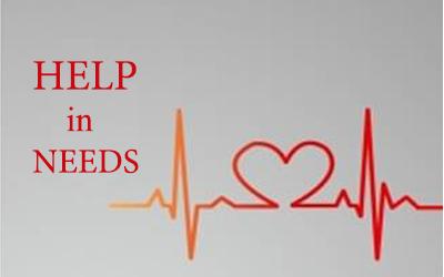 Help in needs