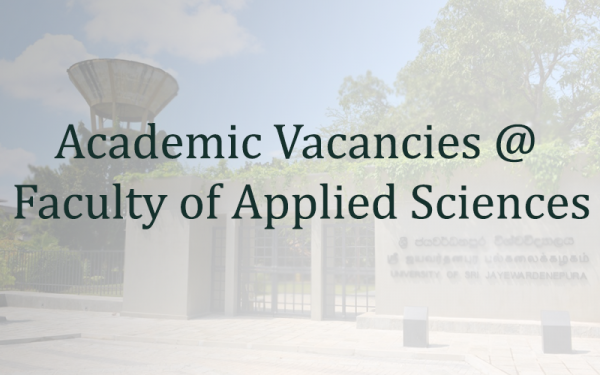 Academic Vacancies