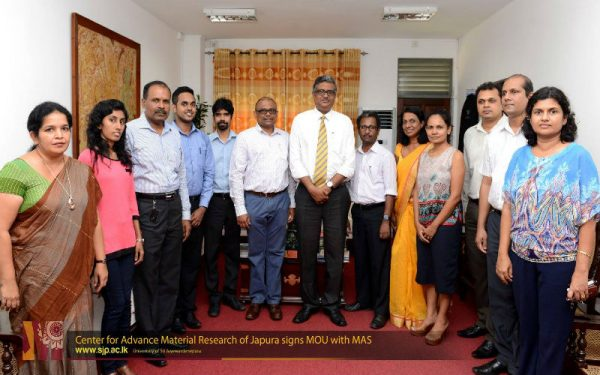 Center for Advance Material Research of Japura signs MOU with MAS