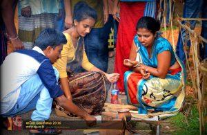New Year at Japura Haritha wasanthaya