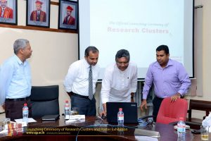Launching Ceremony of Research Clusters and Poster Exhibition (1)