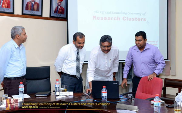 Launching Ceremony of Research Clusters and Poster Exhibition
