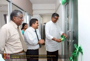 Opening ceremony of Computer lab