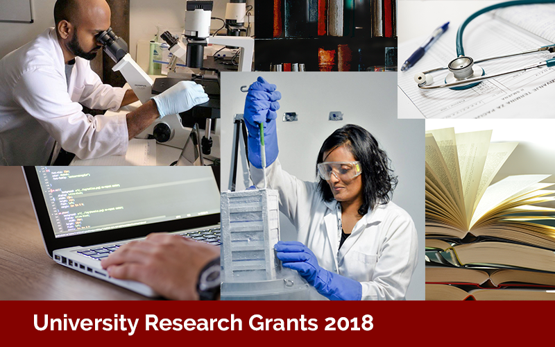 Research Grants Application Submission 2018 has been extended