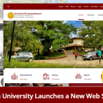 University of Sri Jayewardenepura launches a new website