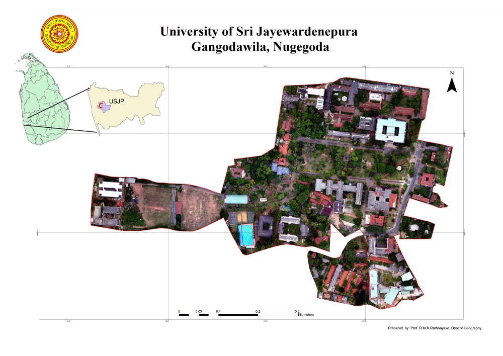 University of Sri Jayewardenepura - Drone Map