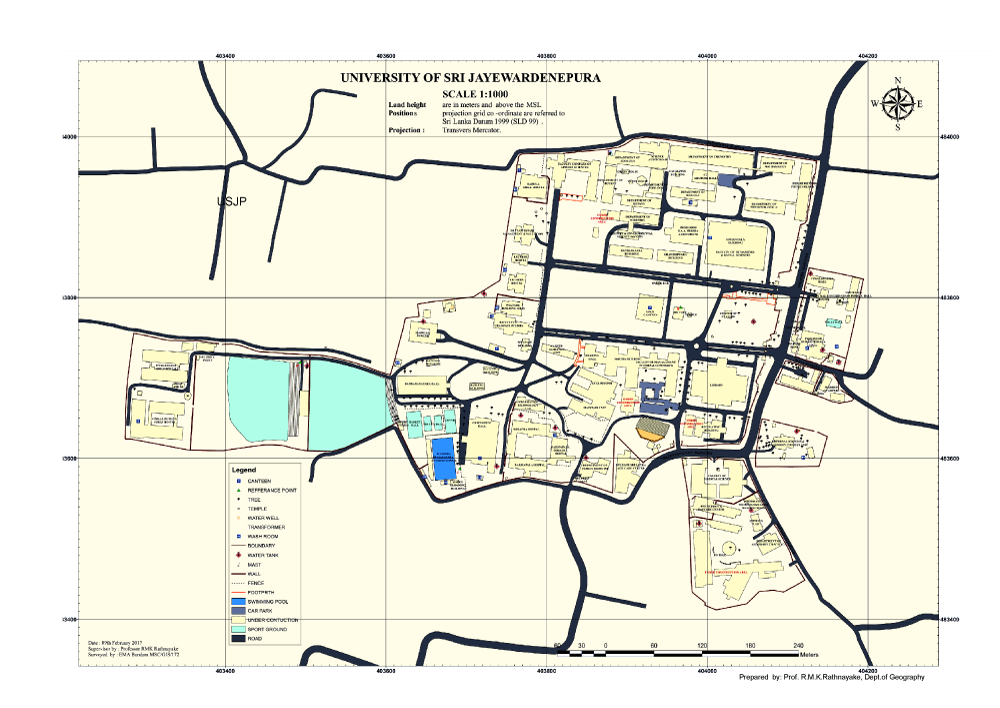 University of Sri Jayewardenepura - GPS MAP