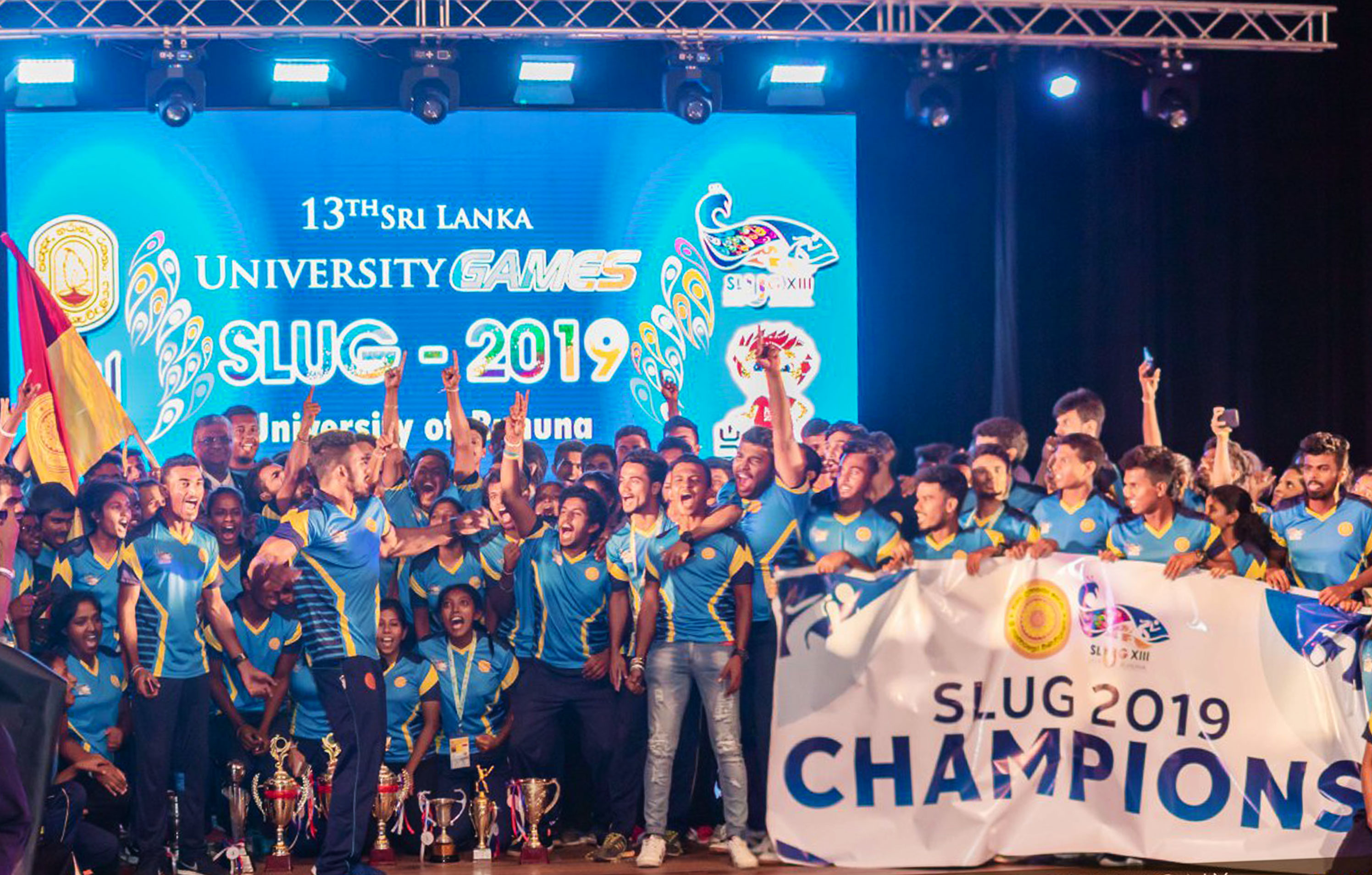 Japura becomes Champions in SLUG Sri Lanka University Games 2019