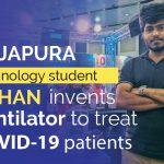 Japura Technology Student Ashan Invents Ventilator to Treat COVID 19