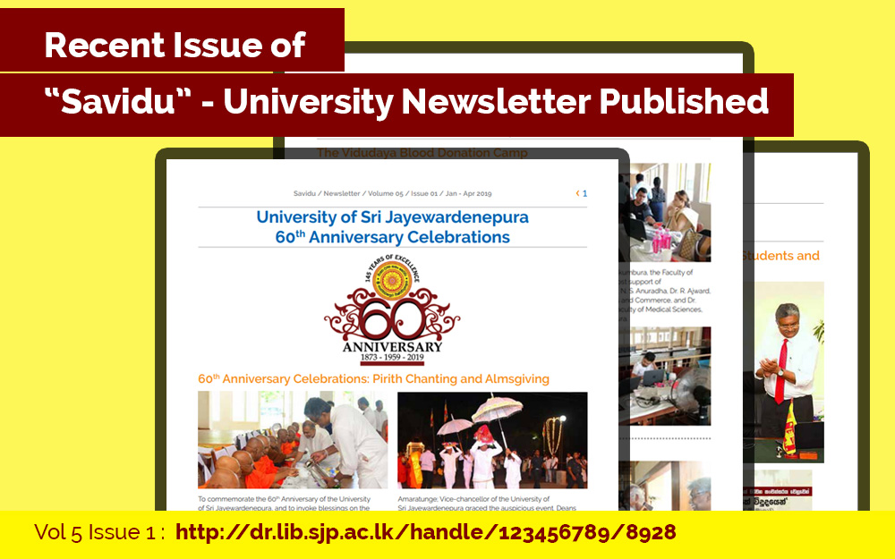 Recent issue of Savdu University newsletter has been published