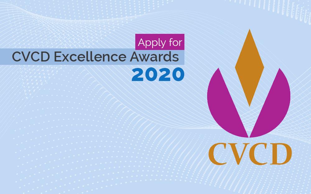 apply for cvcd excellence awards 2020